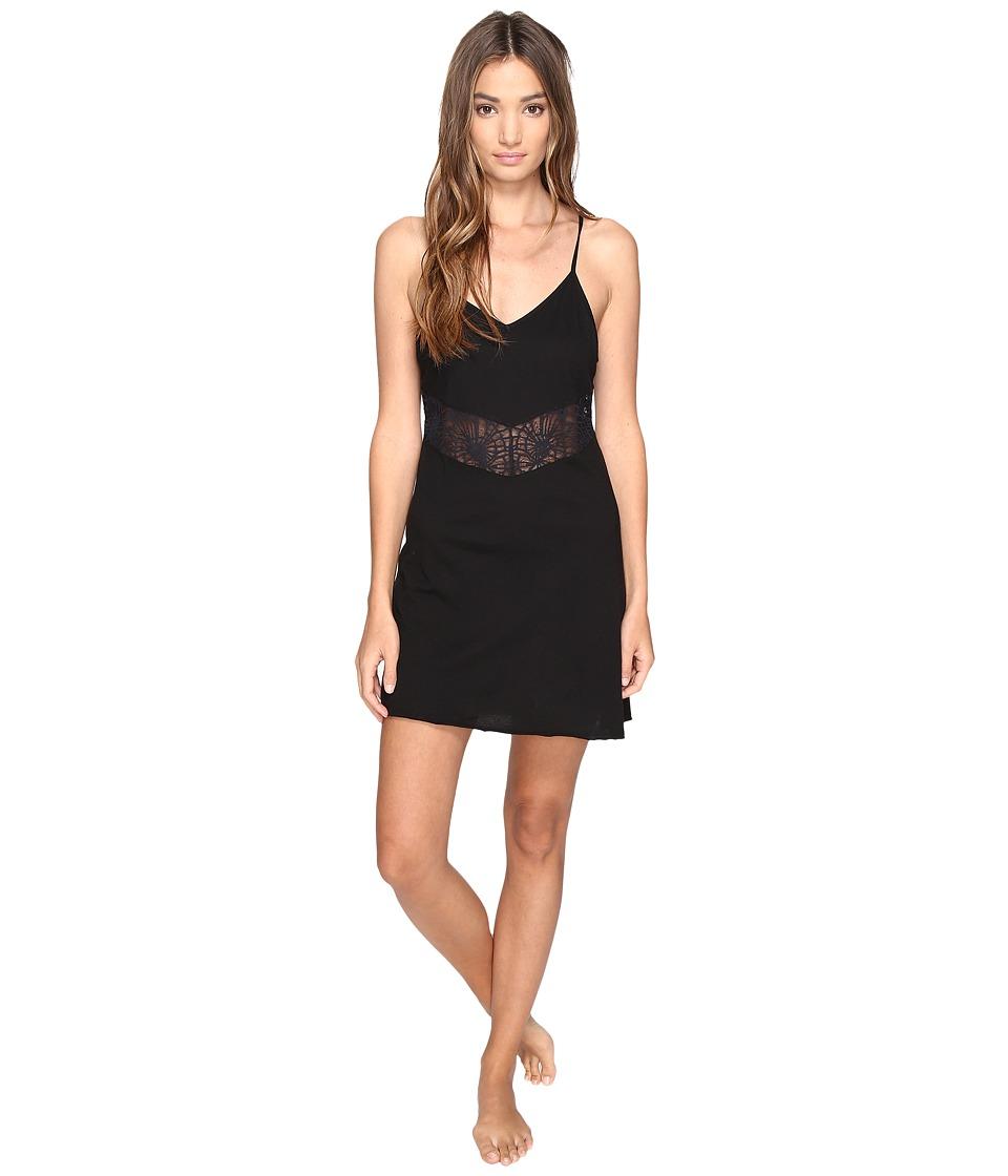 Josie - Easy Breezy Chemise (Black) Women's Pajama