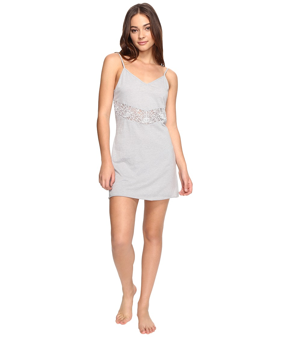 Josie - Easy Breezy Chemise (Light Heather Grey) Women's Pajama