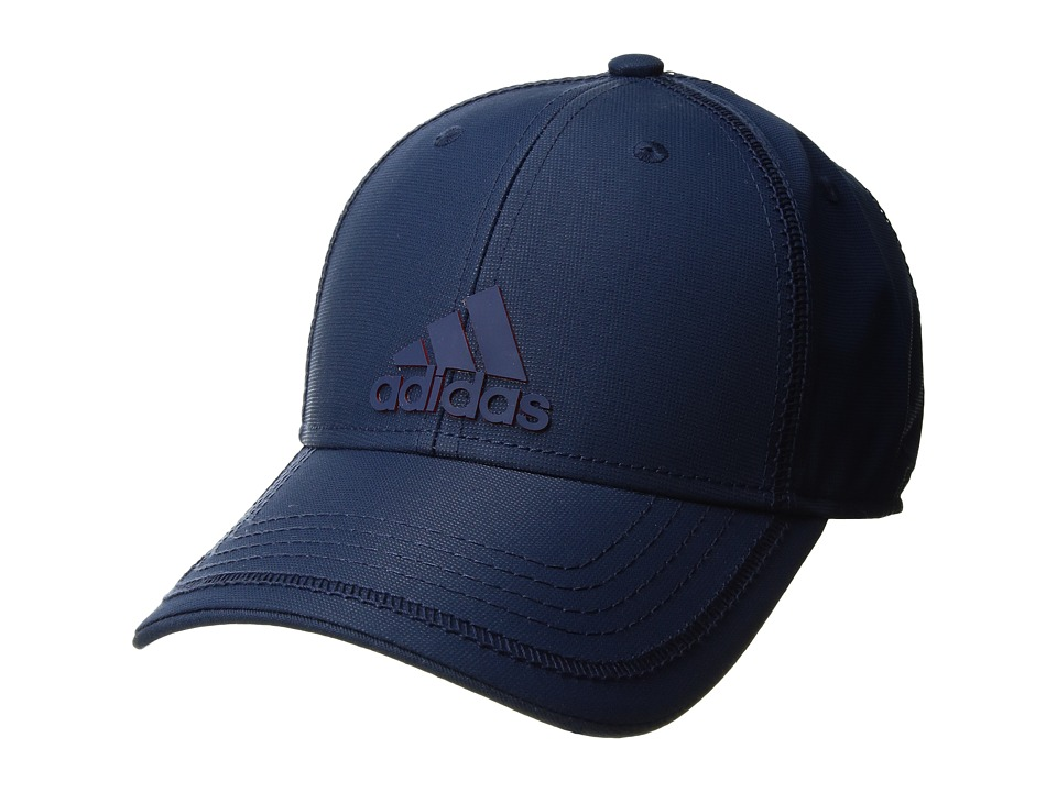 adidas - Contract III Cap (Mystery Blue/Scarlet) Caps