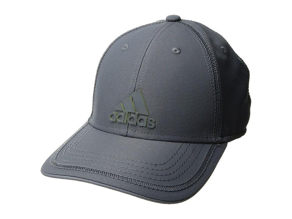 adidas - Contract III Cap (Onix/Onix/Shock Slime) Caps
