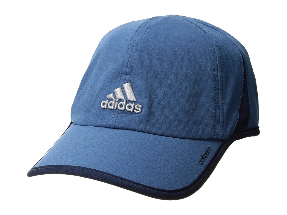 adidas - Adizero II Cap (Core Blue/Collegiate Navy/Clear Grey) Caps