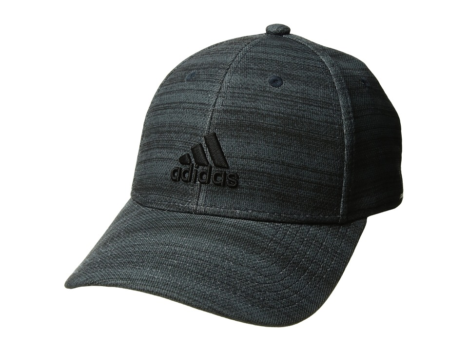 adidas - Rucker Plus Stretch Fit (Noise Print/Black) Caps