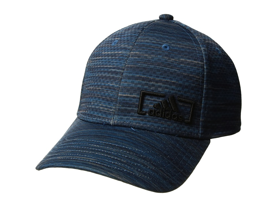 adidas - Amplifier Plus Stretch Fit (Core Blue Looper Print) Caps