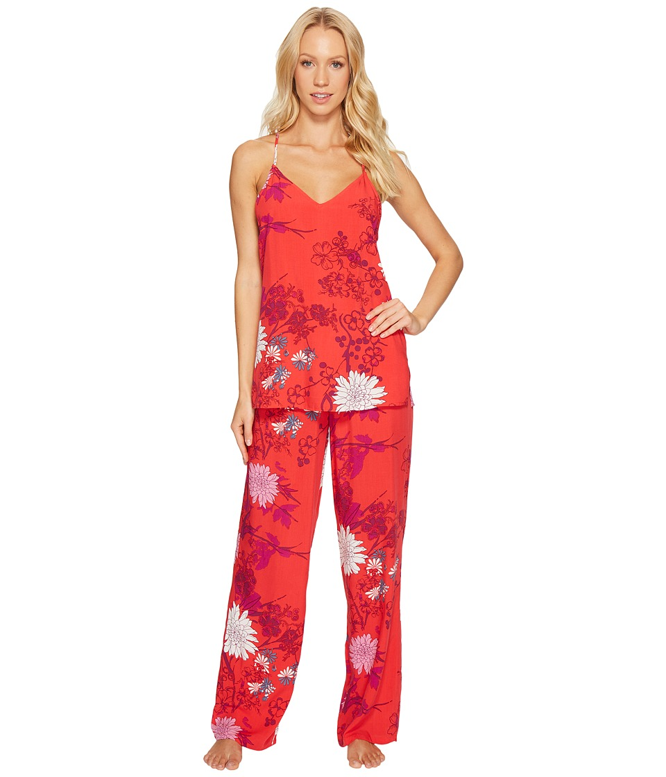 Josie - Roadtrip Pj Set (Bloom) Women's Pajama Sets