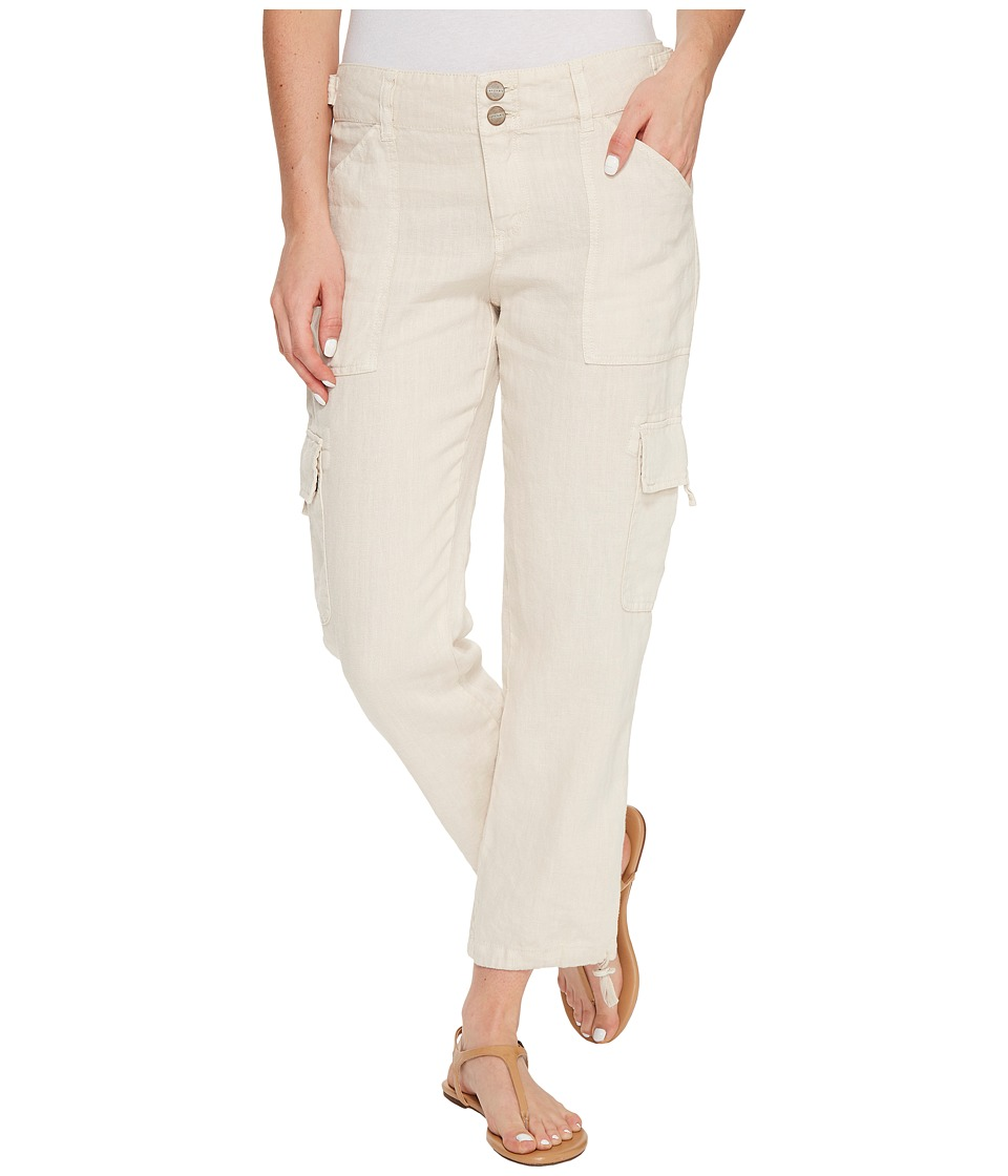 Sanctuary - Terrain Linen Crop Pants (Dune) Women's Casual Pants