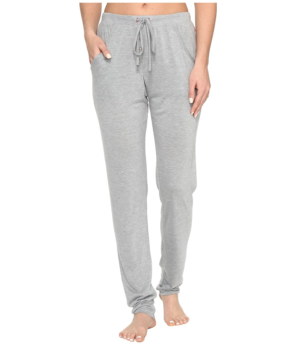 Josie - Heather Tees Kangaroo Pants (Heather Grey) Women's Pajama
