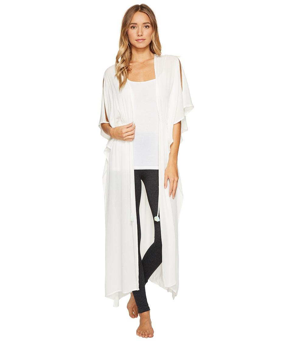 Josie - Sweet Melody Wrap (White) Women's Pajama