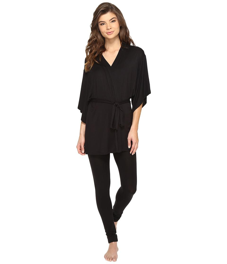 Josie - Josie Tees Happi Coat (Black) Women's Pajama