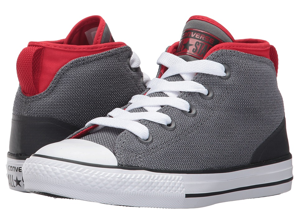 Converse Kids Chuck Taylor All Star Syde Street Mid (Little Kid) (Thunder/Casino/White) Kids Shoes