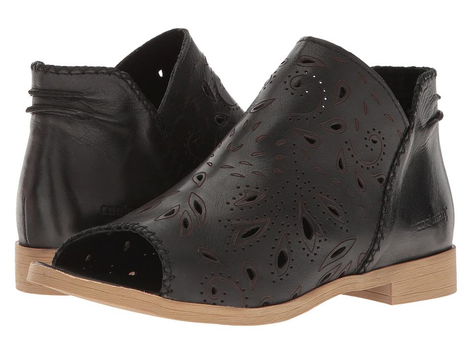 Coolway - Jasper (Black Nappa) Women's Sandals