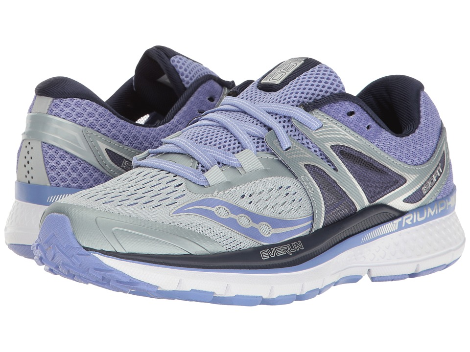 Saucony Triumph ISO 3 (Grey/Purple) Women
