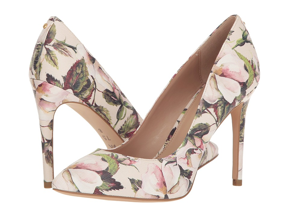 BCBGeneration - Heidi (Chalk Smooth Watercolor Floral) Women's Shoes
