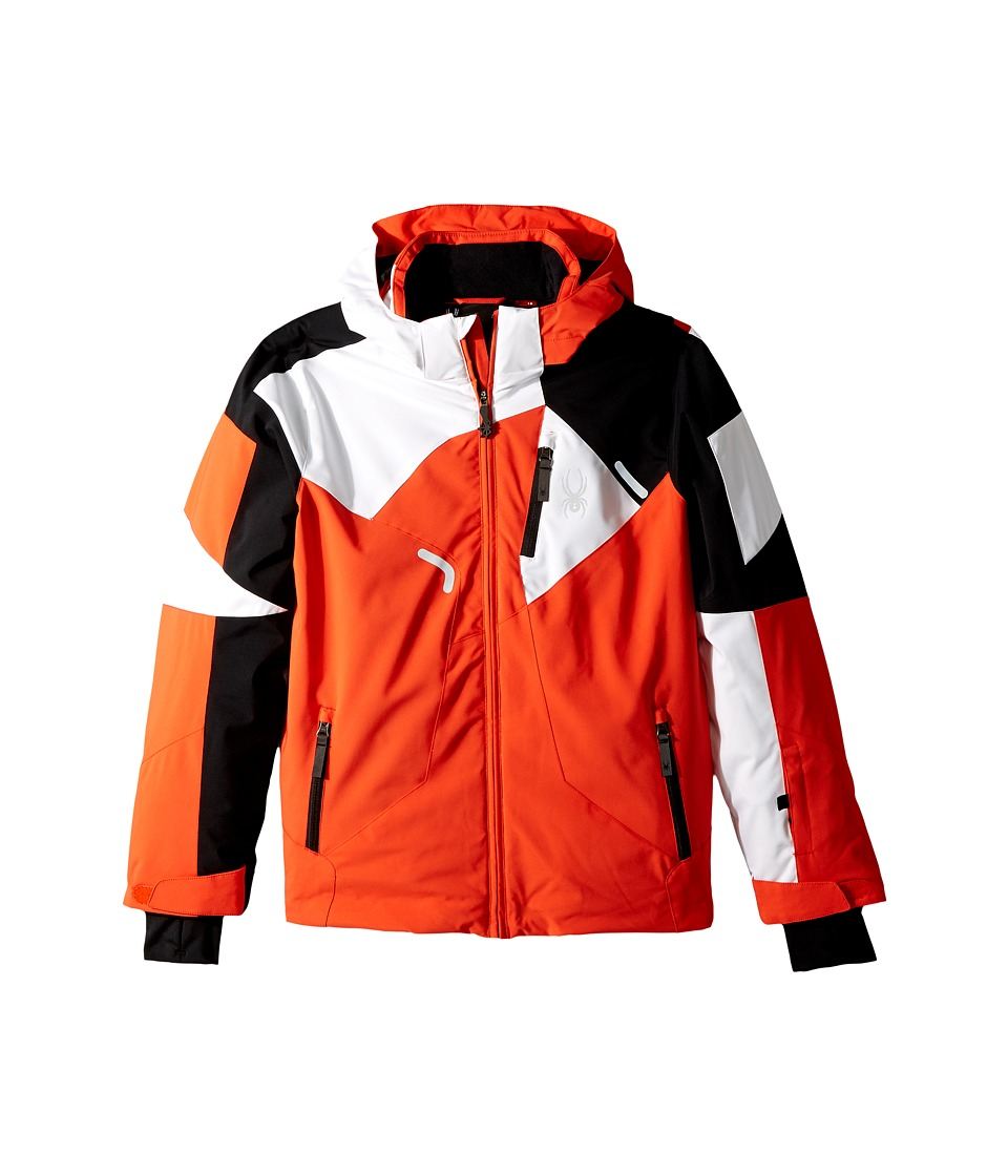 Spyder Kids - Leader Jacket (Big Kids) (Brush/Black/White) Boy's Jacket