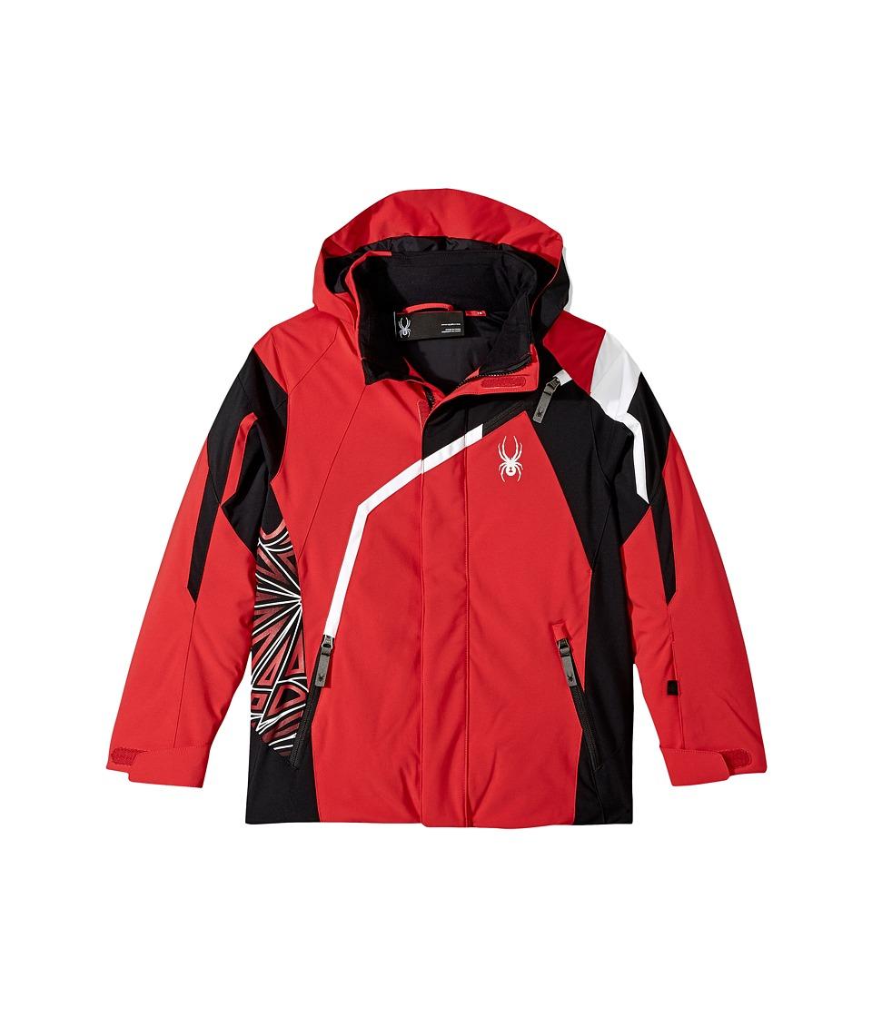 Spyder Kids - Challenger Jacket (Big Kids) (Red/Black/White 1) Boy's Jacket