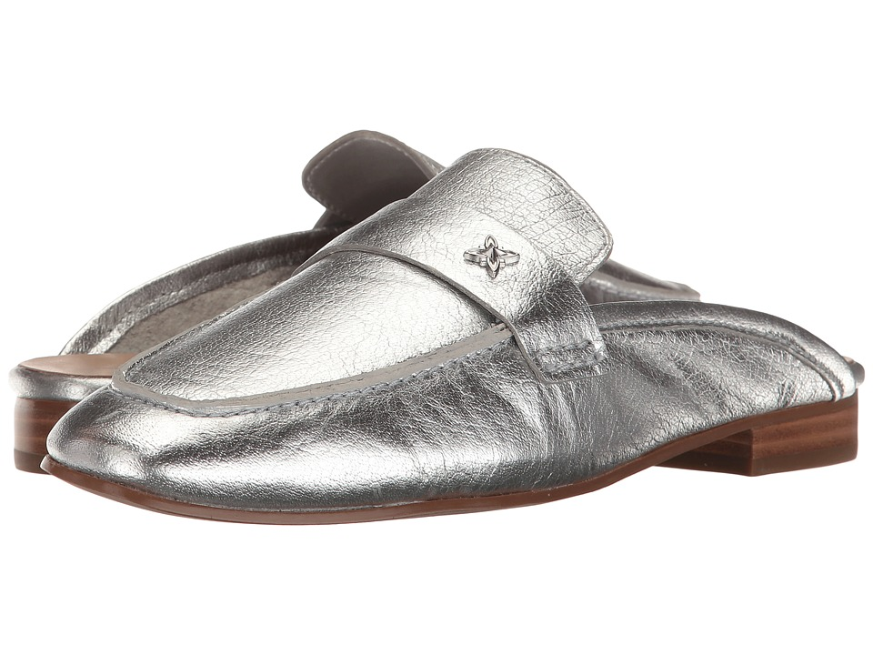 BCBGeneration - Sabrina (Bright Silver Metallic Soft Tumbled Calf) Women's Shoes