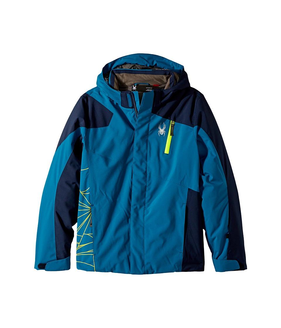 Spyder Kids - Guard Jacket (Big Kids) (Lyons Blue/Frontier) Boy's Jacket