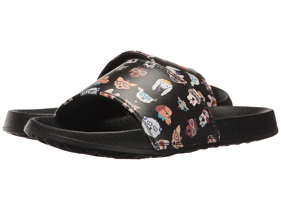BOBS from SKECHERS - 2nd Take (Black) Women's Slide Shoes