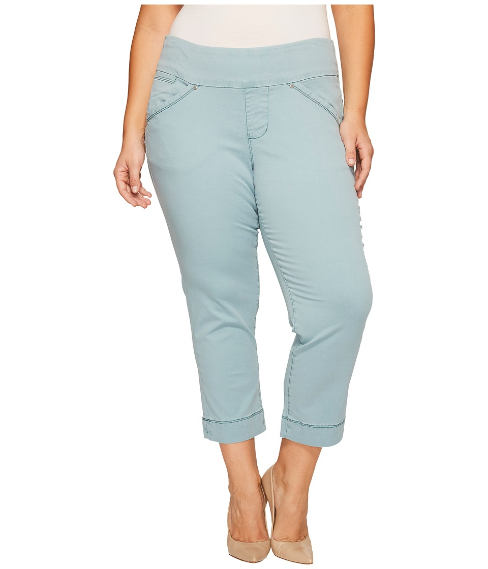 Jag Jeans Plus Size - Plus Size Marion Crop in Bay Twill (Nile) Women's Casual Pants