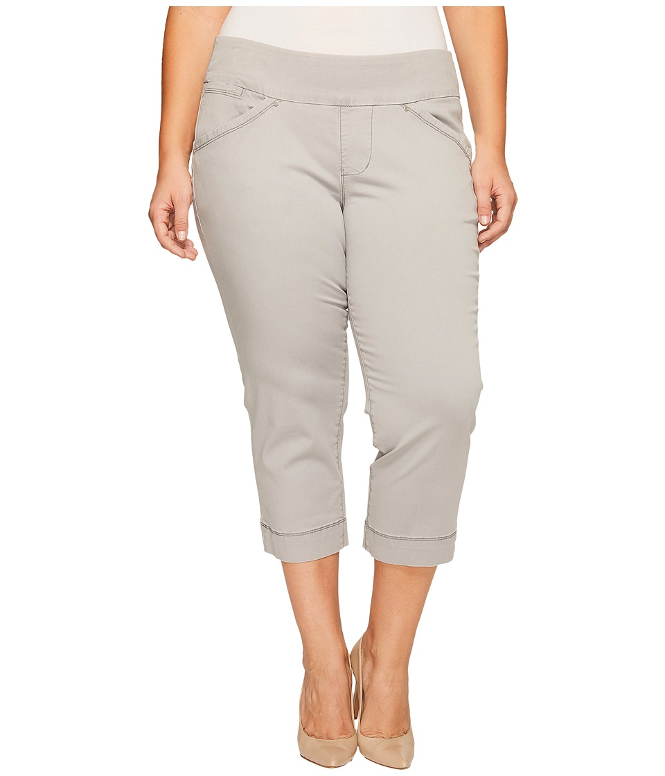 Jag Jeans Plus Size - Plus Size Marion Crop in Bay Twill (Shadow) Women's Casual Pants