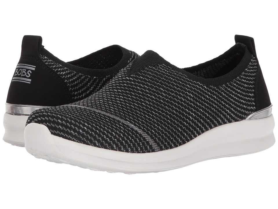 BOBS from SKECHERS Bobs Phresher Home Stretch (Black) Women