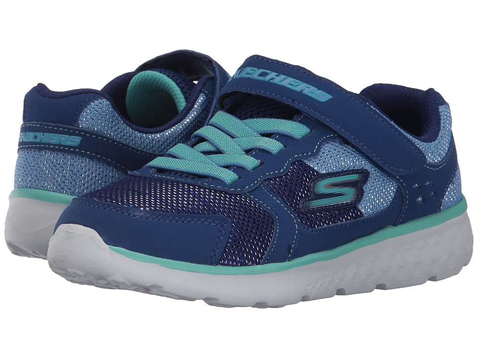SKECHERS KIDS Go Run 400 (Little Kid/Big Kid) (Blue/Turquoise) Girl