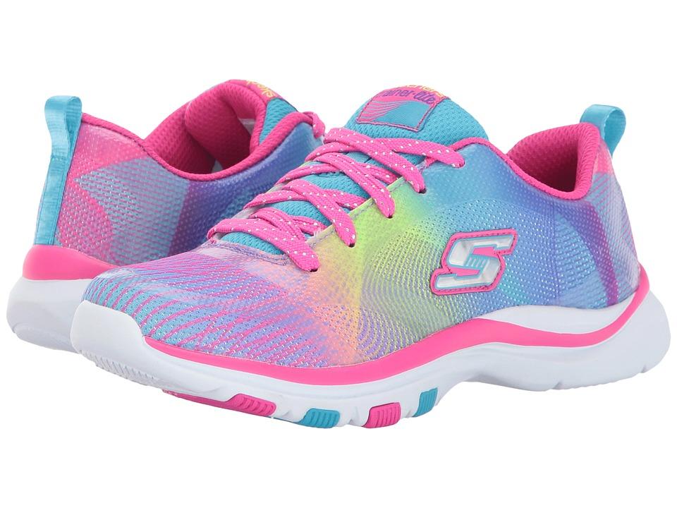 SKECHERS KIDS - Trainer Lite (Little Kid/Big Kid) (Multi 1) Girl's Shoes