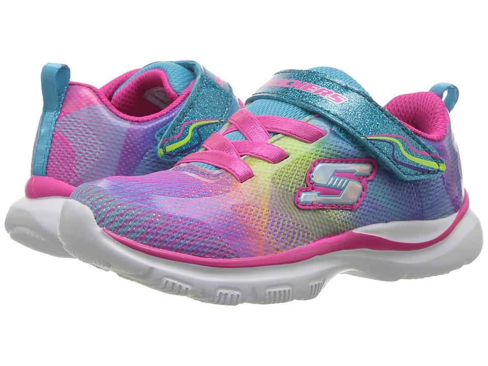SKECHERS KIDS - Trainer Lite (Toddler) (Multi 2) Girl's Shoes