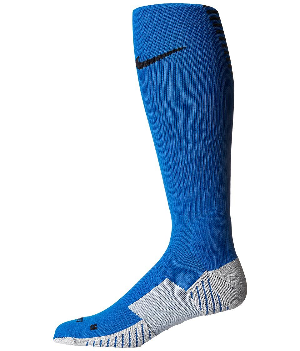 Nike Stadium Football OTC (Blue Jay/Black) Knee High Socks Shoes