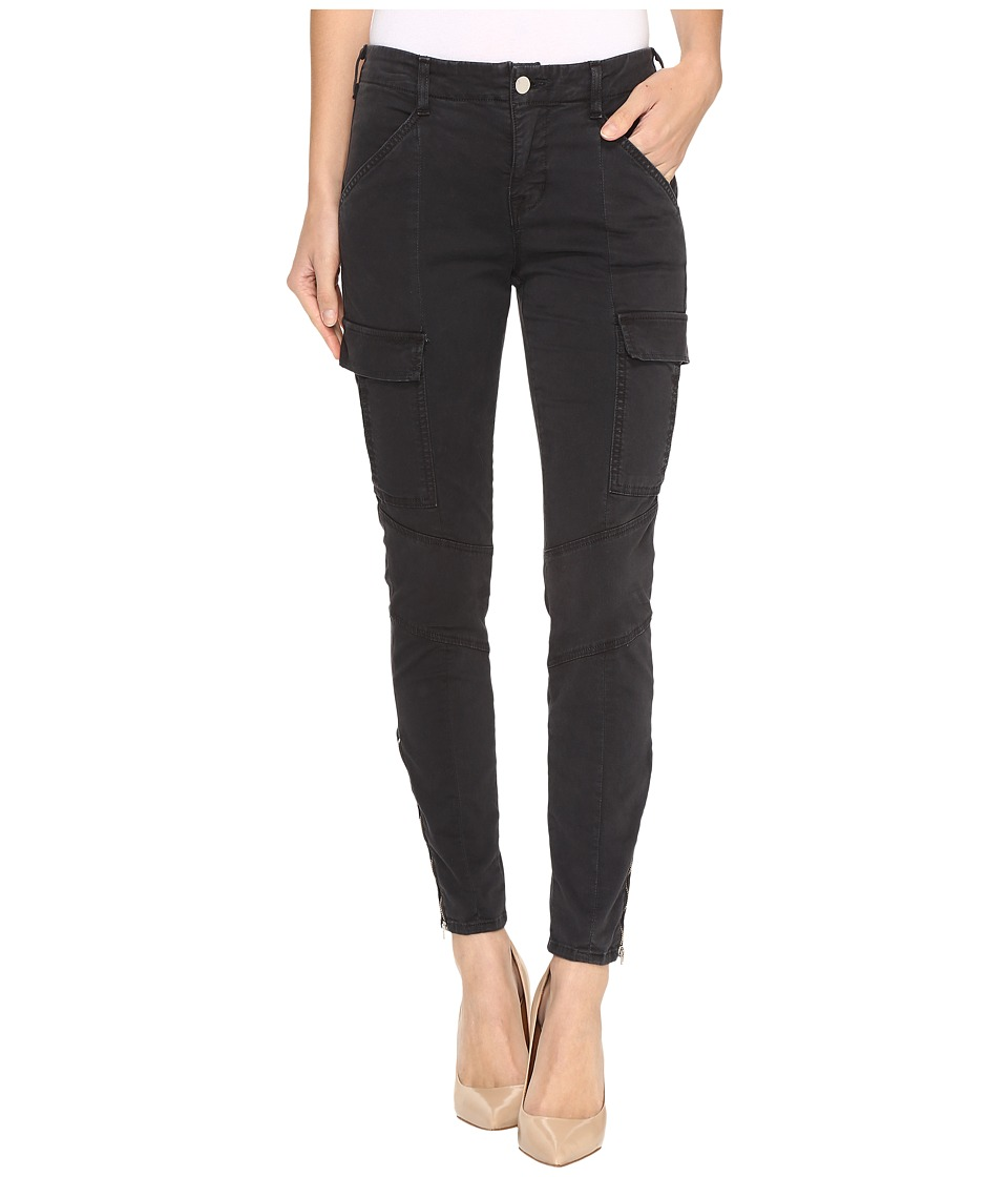 J Brand - Mid-Rise Houlihan in Distressed Chrome (Distressed Chrome) Women's Casual Pants