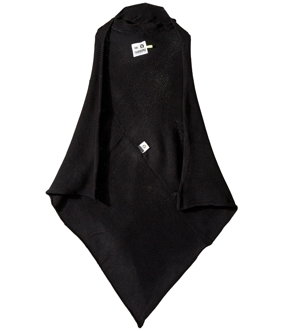Nununu - Knitted Blanket (Black) Blankets