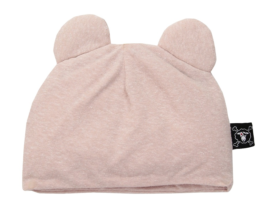 Nununu - Mouse Hat (Infant) (Powder Pink) Caps