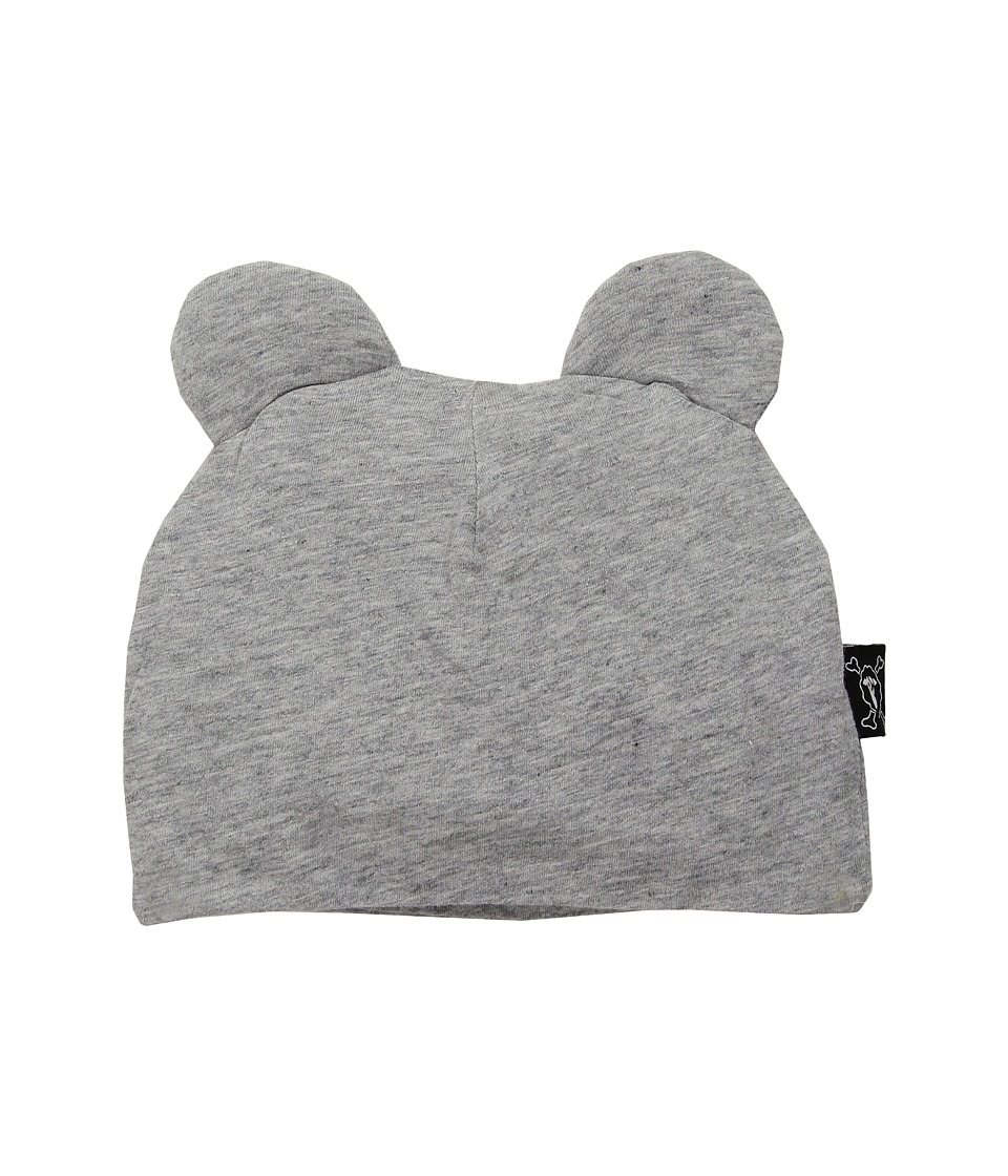 Nununu - Mouse Hat (Infant) (Heather Grey) Caps