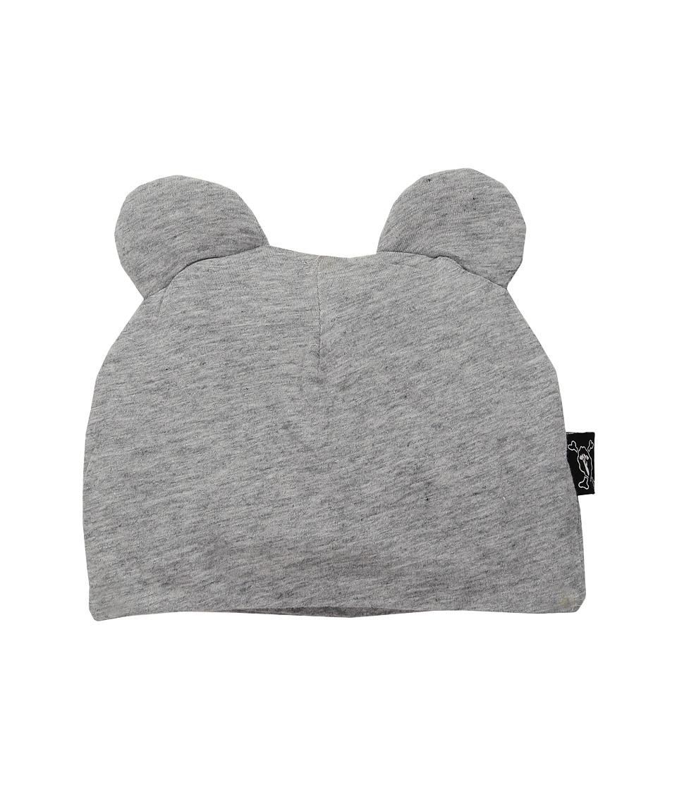 Nununu - Mouse Hat (Infant) (Heather Grey) Caps