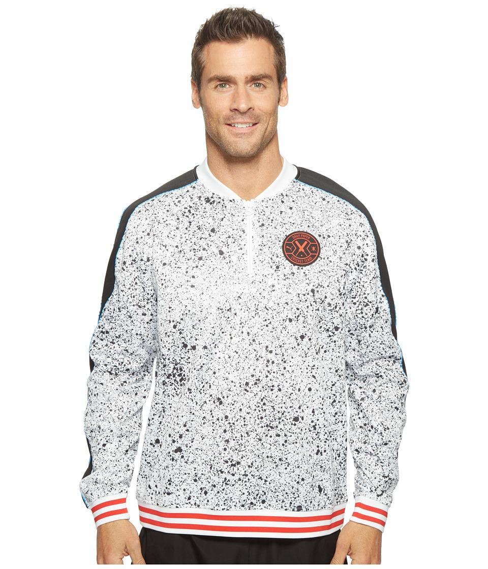 PUMA - PUMA X Daily Paper Crew Sweatshirt (Puma White AOP) Men's Sweatshirt