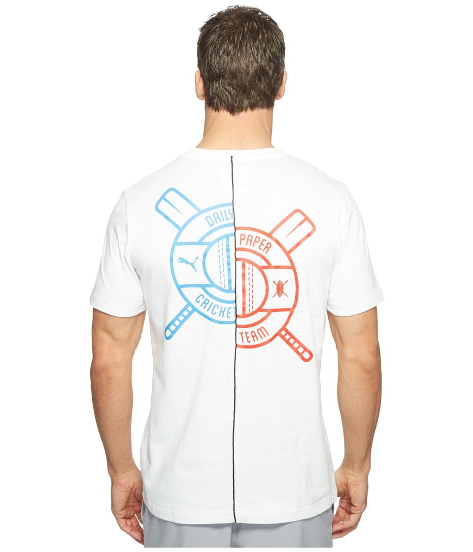 PUMA - PUMA X Daily Paper Tee (PUMA White) Men's T Shirt