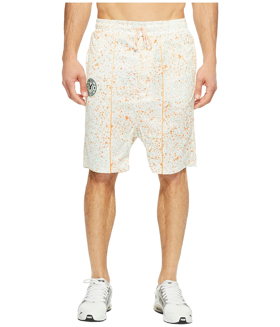 PUMA - PUMA X Daily Paper Shorts (Puma White AOP) Men's Shorts