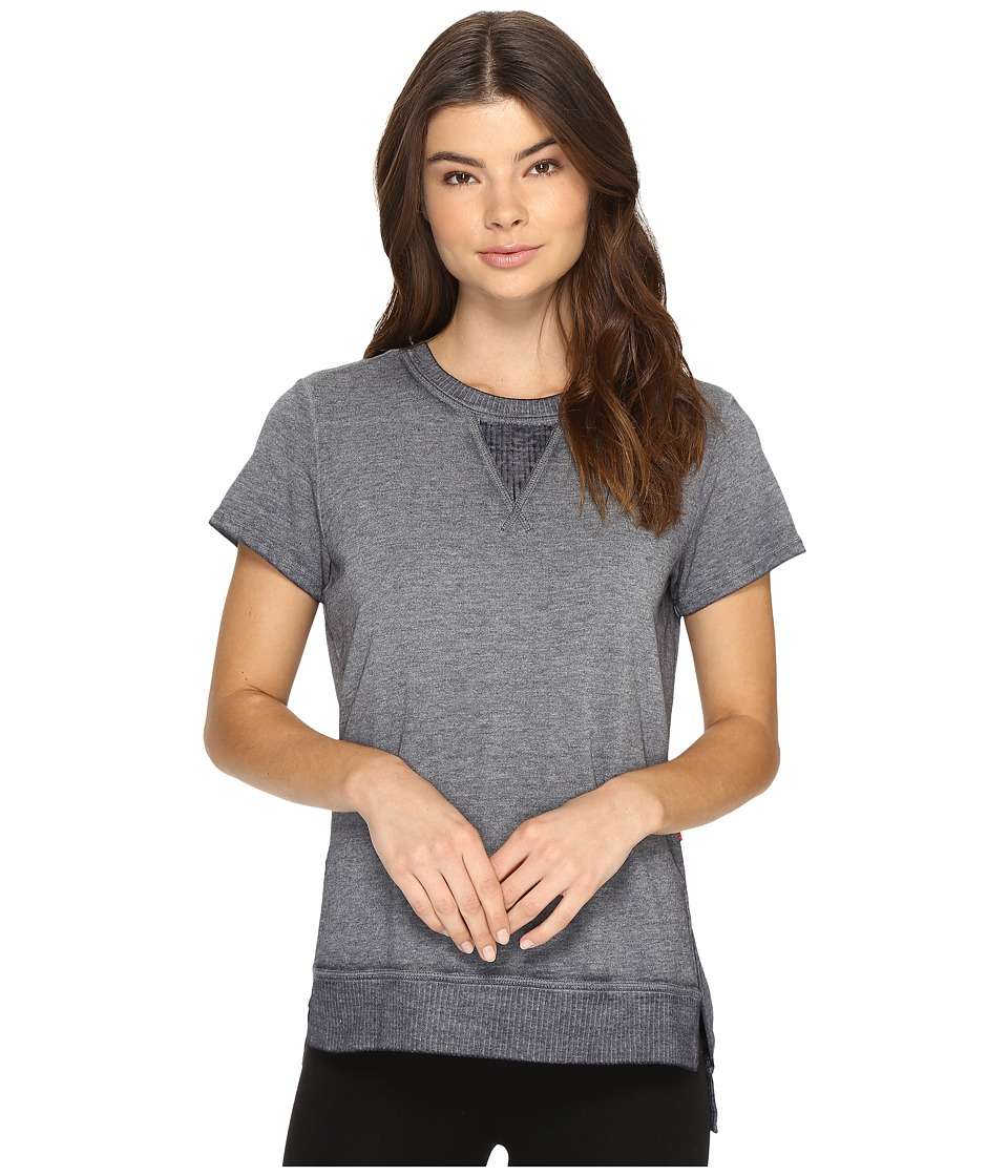 Josie - Sunset Boulevard Short Sleeve Top (Midnight Navy) Women's Pajama