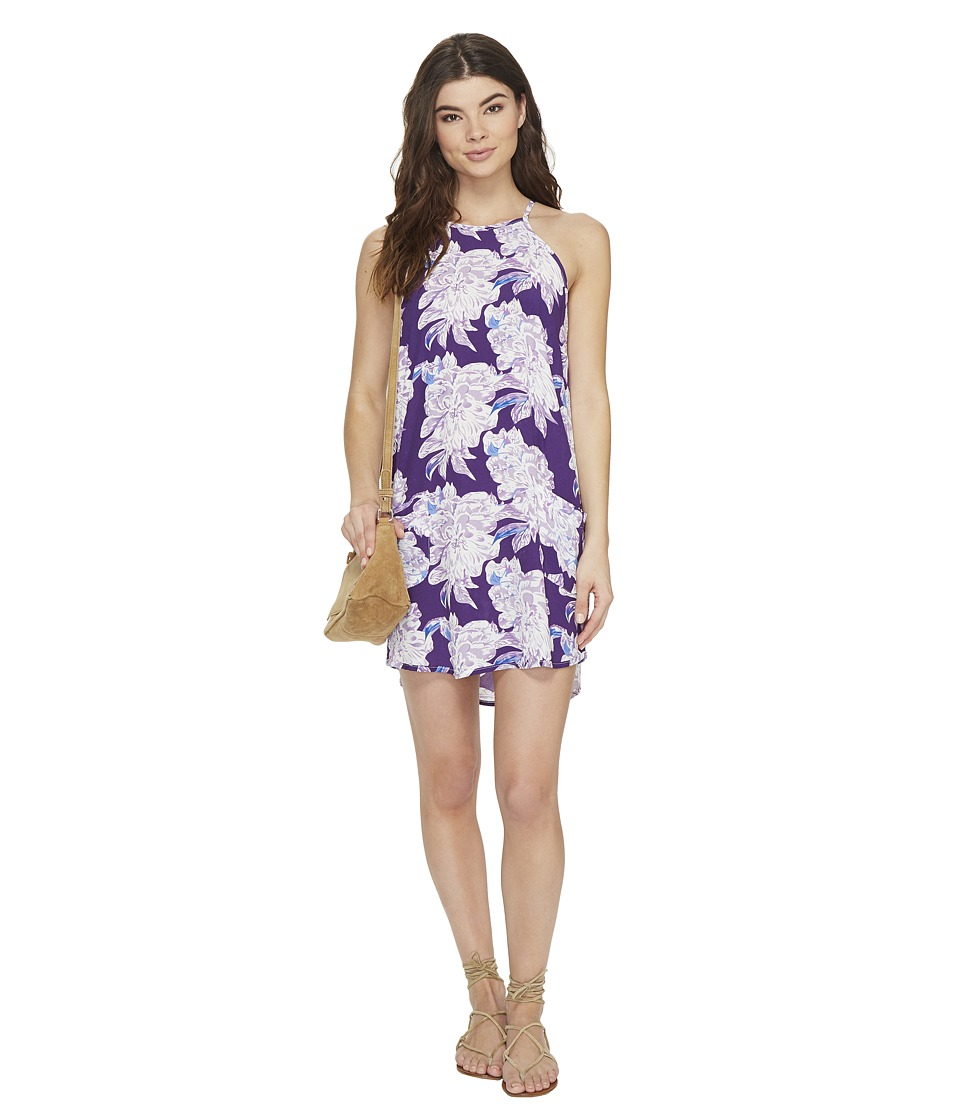 Lucy Love - Mulholland Drive Dress (Peony Print) Women's Dress