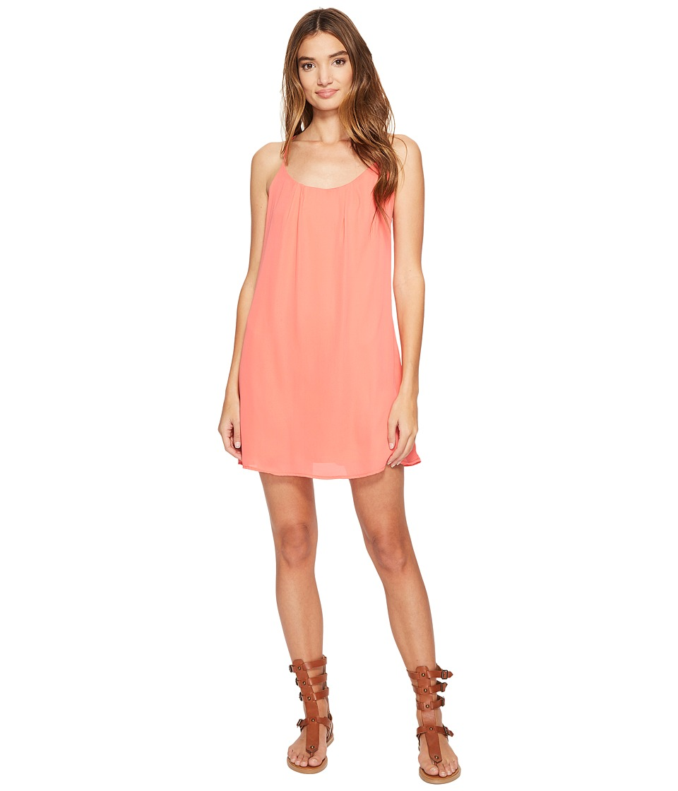 Lucy Love - Take Me To Dinner Dress (Guava) Women's Dress