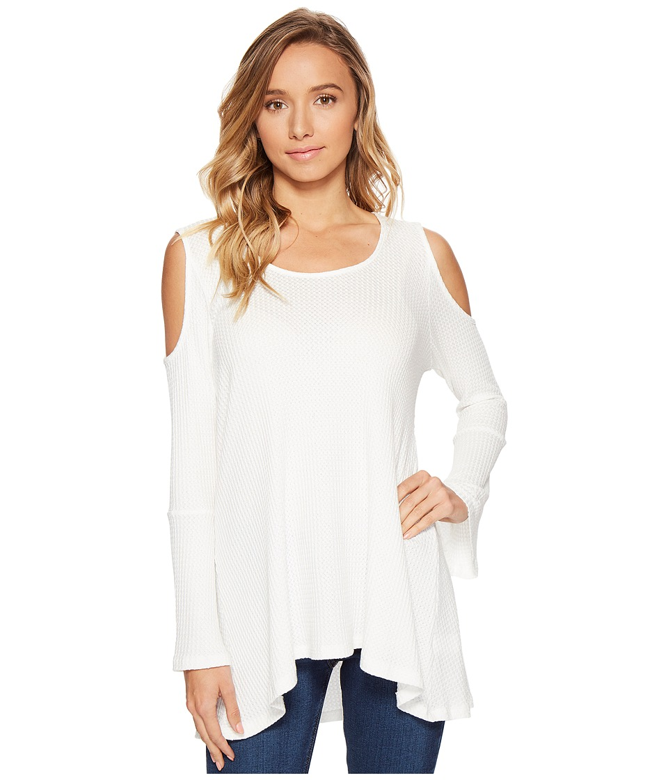 Lucy Love - Get Outside Tunic (White) Women's Blouse