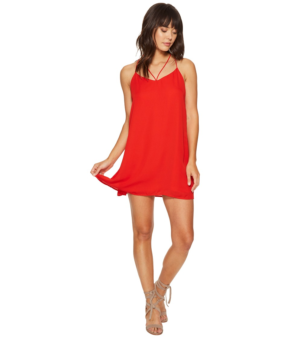 Lucy Love - Ask Me Out Dress (Hot Tamale) Women's Dress
