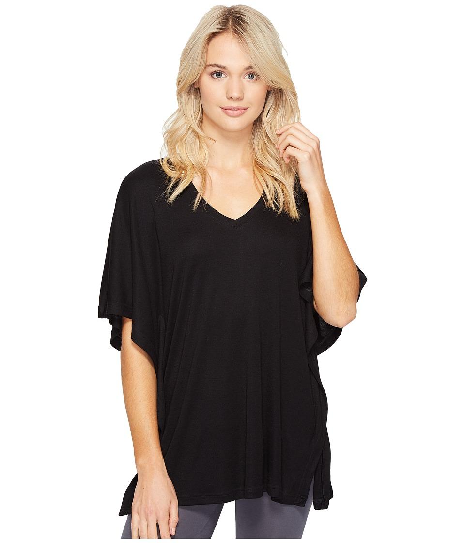 N by Natori - Speckled Caftan Top (Black) Women's Pajama
