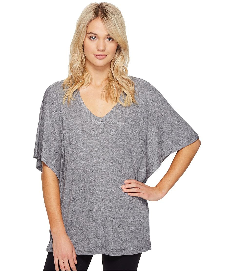N by Natori - Speckled Caftan Top (Heather Grey) Women's Pajama