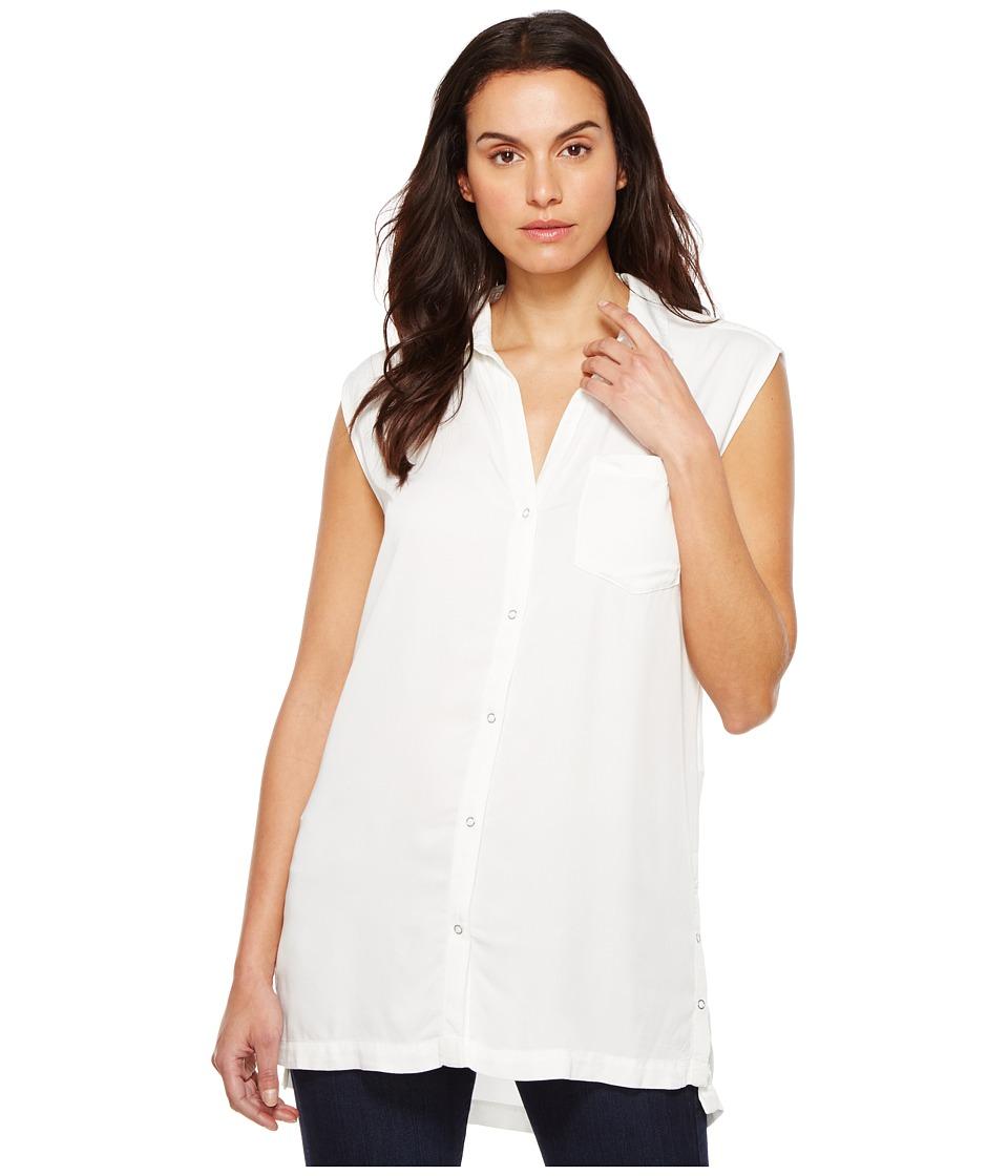 Calvin Klein Jeans - Sleeveless Blouse (Snow White) Women's Sleeveless