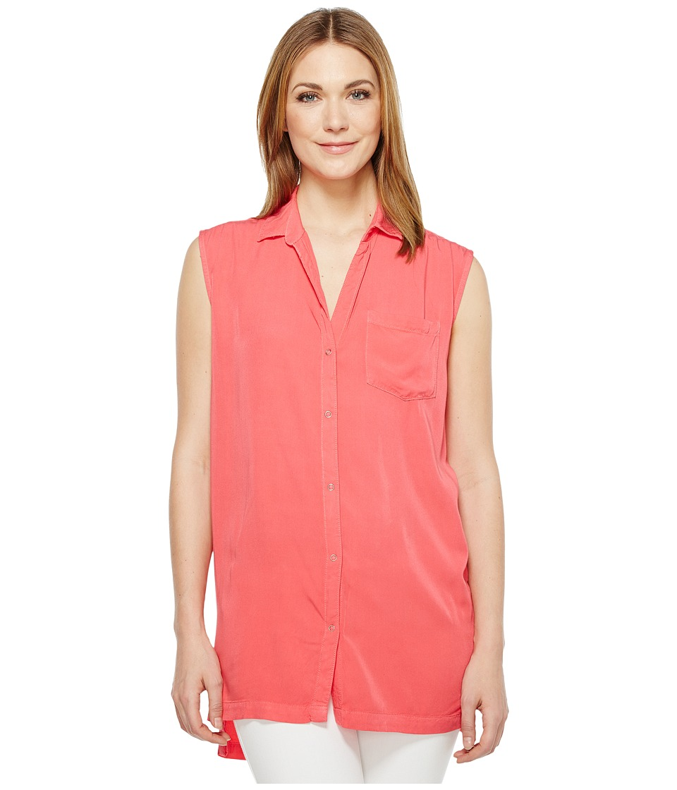 Calvin Klein Jeans - Sleeveless Blouse (Teaberry) Women's Sleeveless