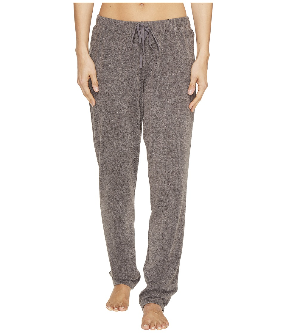 N by Natori - Sweater Knit Pants (Heather Grey) Women's Pajama