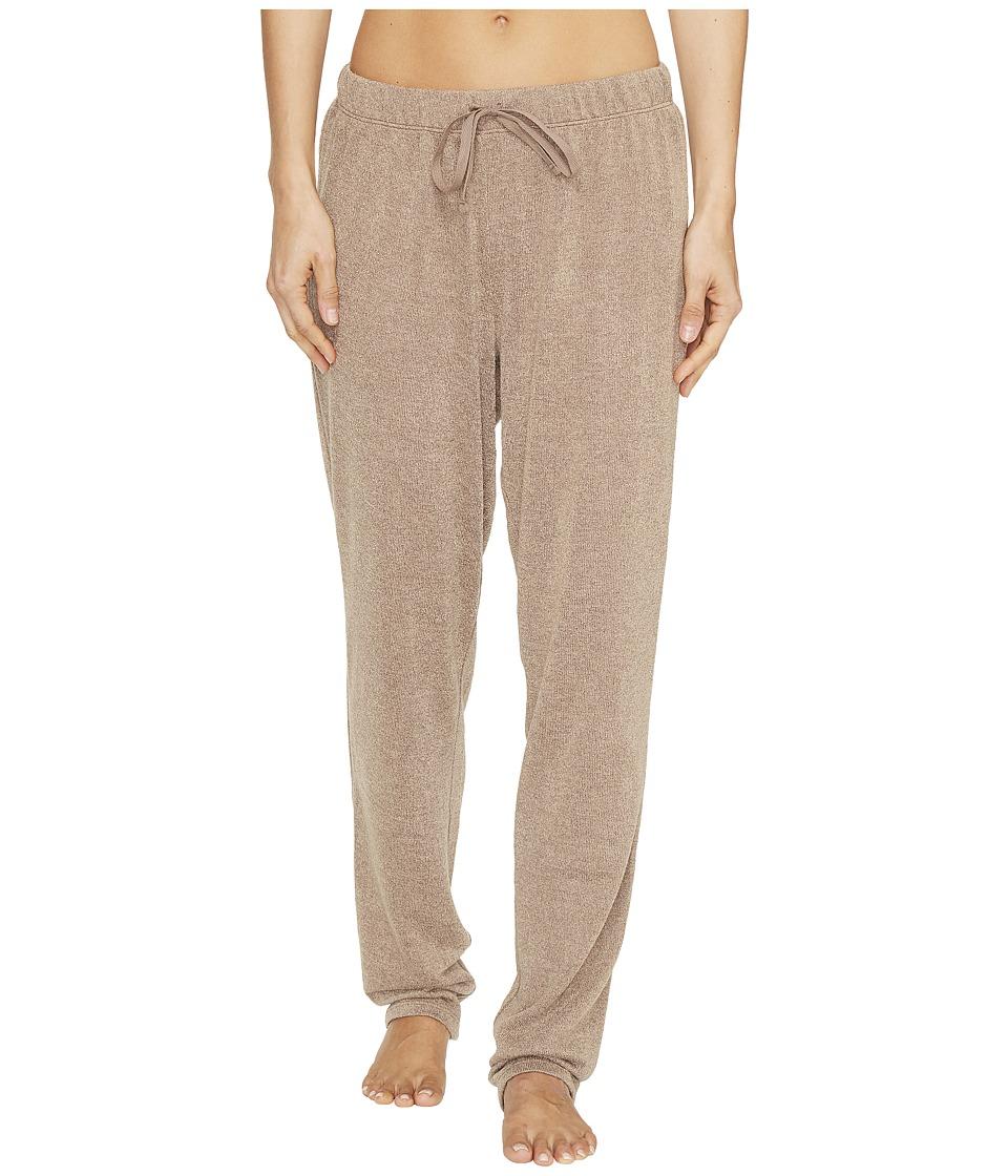 N by Natori - Sweater Knit Pants (Light Coffee) Women's Pajama