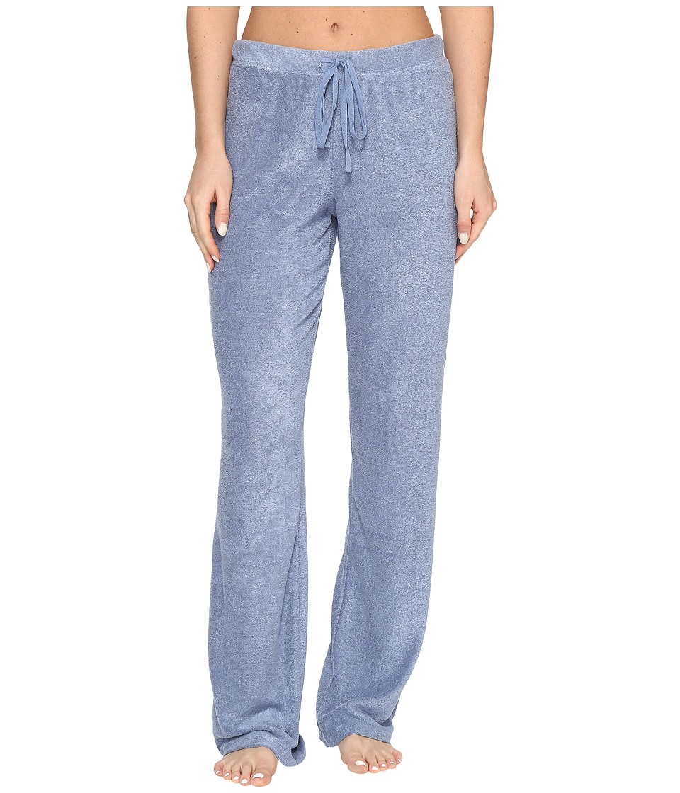 N by Natori - Terry Lounge Pants (Smokey Blue) Women's Pajama