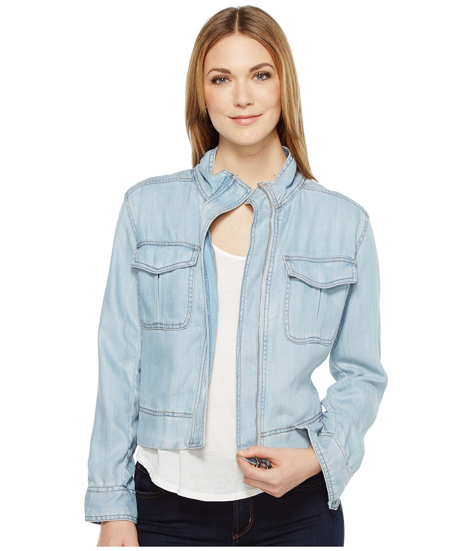 Calvin Klein Jeans - Utility Jacket (Worn Light) Women's Coat