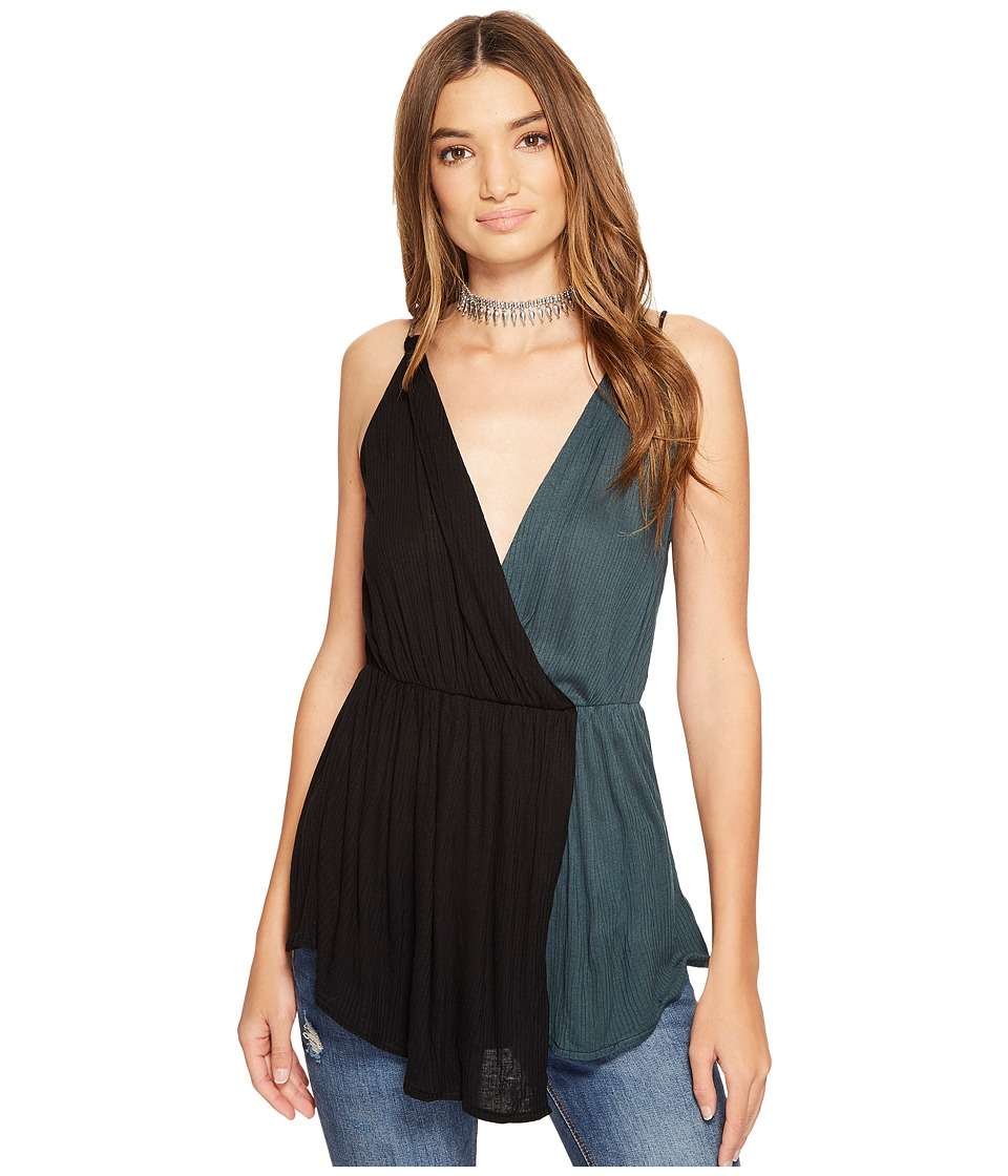 Free People - Last Night Tank Top (Black) Women's Sleeveless